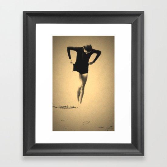 Woman Emerging (l) Framed Art Print