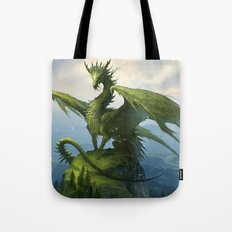 Green Dragon v2 Tote Bag