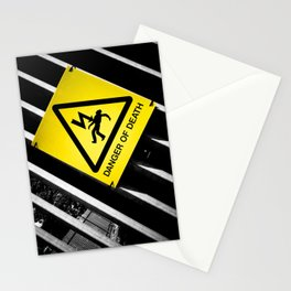 Danger of Death #2 | New Slant, Old Message Stationery Cards