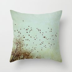 Restless Revisited Throw Pillow