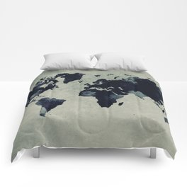 map world map 60 Comforters