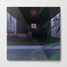Pool Interior Metal Print