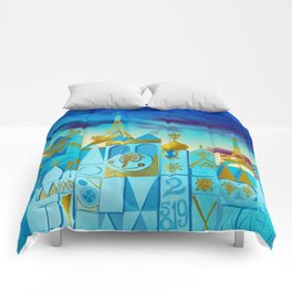 It's a Small World Comforters