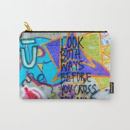 Look Both Ways Carry-All Pouch