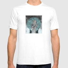 Smells like fish Mens Fitted Tee White MEDIUM