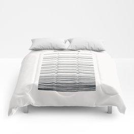 Linear Gradation - Slate Comforters