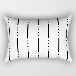 Morse Code #159 Rectangular Pillow