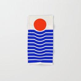 Going down-modern abstract Hand & Bath Towel