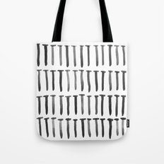Nails watercolor Tote Bag