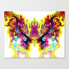 twelvetacle bear Canvas Print