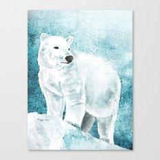 The White Bear Canvas Print