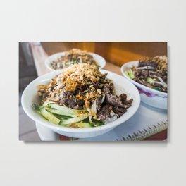 Asian Food 05 Metal Print