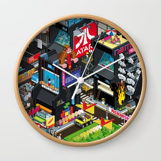 GAMECITY Wall Clock