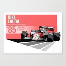 Niki Lauda - 1985 Zandvoort Canvas Print