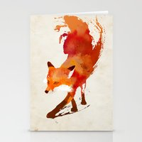 always Stationery Cards featuring Vulpes vulpes by Robert Farkas