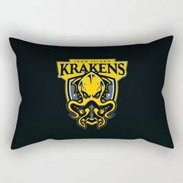 Iron Island Krakens Rectangular Pillow