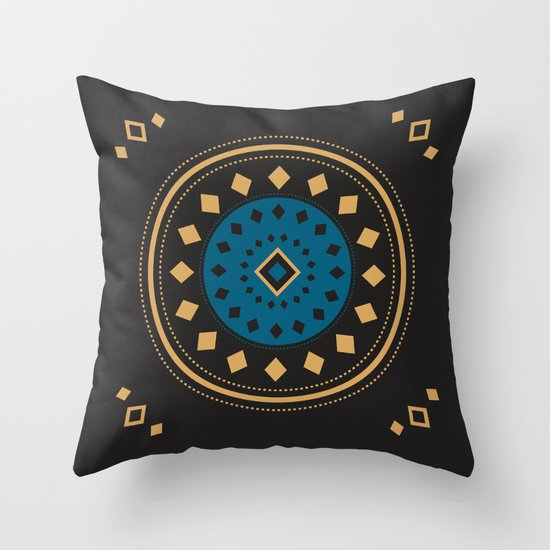 What goes around comes back around Throw Pillow