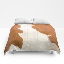 Brown Cowhide v3 Comforters