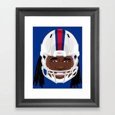 Faces-Bills Framed Art Print