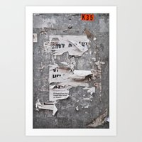Urban Archaeology - Copenhagen Art Print