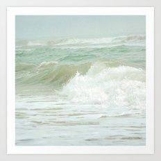 Sea Green Art Print