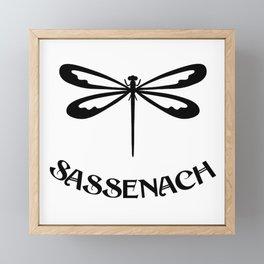 SASSENACH DRAGONFLY Framed Mini Art Print
