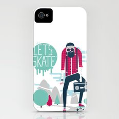 Let's skate  iPhone (4, 4s) Slim Case