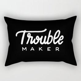 Trouble maker #2 Rectangular Pillow