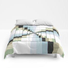 Geometric Earth Tones Comforters