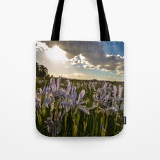 Mountain Flower Brilliance Tote Bag