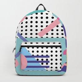 Memphis Pattern 5 - 80s - 90s - Retro Backpack