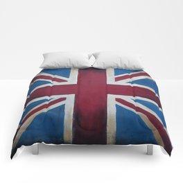 Union Jack Antique Comforters