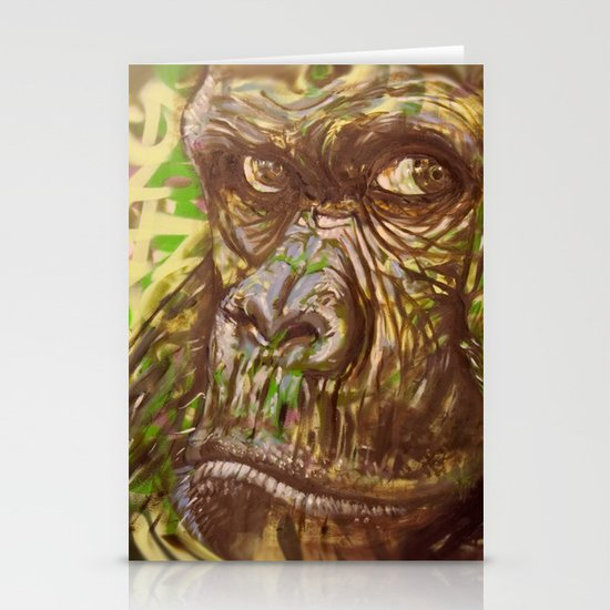Gorilla Funk (Living on the Edged Pt. II) Stationery Cards