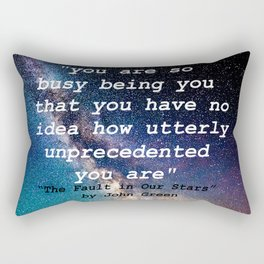 The Fault in Our Stars Rectangular Pillow