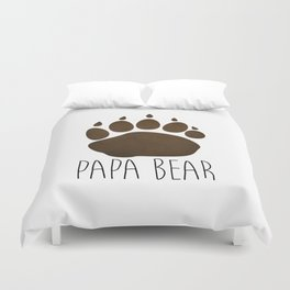 Papa Bear Duvet Cover