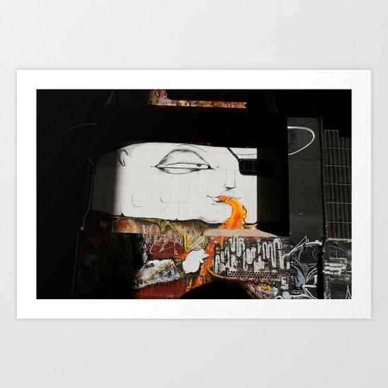 """Pinta Jazz"" Art Print"