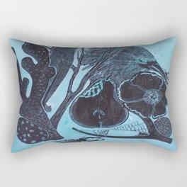 Claude's Curiosities Take Two Rectangular Pillow