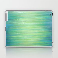 Ombre Aqua Bliss painting Laptop & iPad Skin