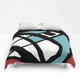Abstract Painting Design - 2 Comforters