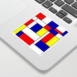 Mondrian #38 Sticker