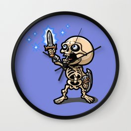 I Have the Power! Wall Clock