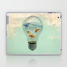 ideas and goldfish 02 Laptop & iPad Skin