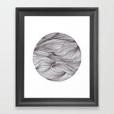 círculo Framed Art Print