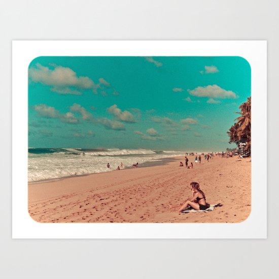 Aloha From the North Shore (Photo) Art Print