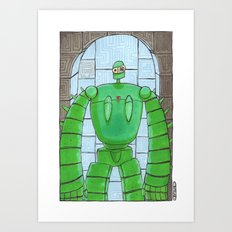 Groundskeeper Art Print