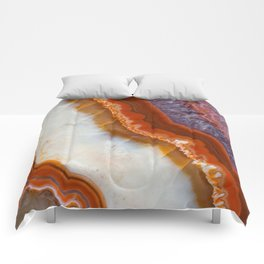 Rusty Amethyst Agate Comforters