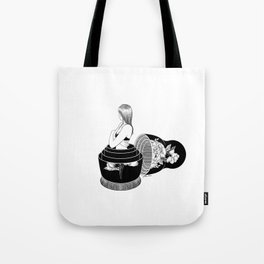 Nobody Knows The Real Me Tote Bag