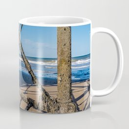 Pier on the North Norfolk coast Coffee Mug