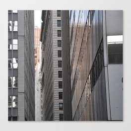 Narrow City Streets Canvas Print