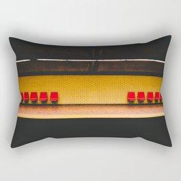 Montreal Subway #4 Rectangular Pillow